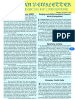 Catholic Diocese of Livingstone Newsletter Jan to Mar 2011