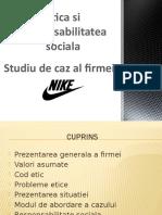 Studiu de caz Etica in afaceri firma Nike