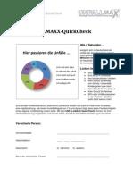 Unfallversicherung Vergleichen Unfallmaxx Quick Check