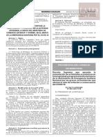 Decreto Supremo Nº 080-2020-PCM