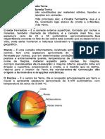 estrutura interna da terra texto