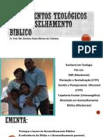 1. Fundamentos teologicos do aconselhamneto bíblico - seminário anapólis