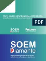 Protocolo de Actuación en Situaciones de Violencia Laboral - Festram Soem Diamante