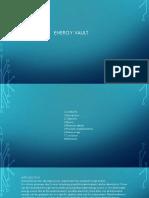 Presentation on ENERGY VAULT