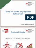 Open BURSEN Costo del Capital