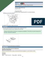 Hyundai HB 2012 1.0 - Procedimento de substituição da correia de acessórios