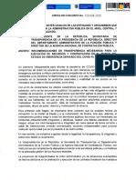 Recomendaciones a alcaldes y gobernadores para que combatan la corrupción en medio del Covid