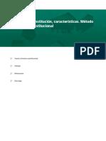 Concepto de constitución caracteristicas metodo del derecho constitucional 1.pdf