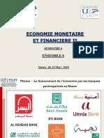 Cours Séance  du  24 mars 2020              Partie banques participatives