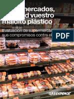 Informe Green pace españa plasticos
