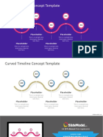 FF0276 01 Free Curved Timeline Powerpoint Template 16x9