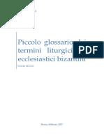 Piccolo glossario bizantino