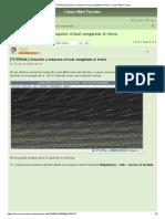 [TUTORIAL] Solución a máquina virtual congelada al inicio - Linux Mint Forums