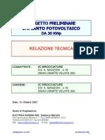 Relazione tecnica preliminare