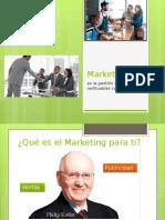 1 Marketing Generación y Captación Del Valor