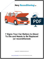 7 Signs Your Car Battery Is About To Die and Needs to Be Replaced