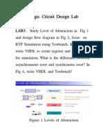 Logic Cricuit Design Lab2