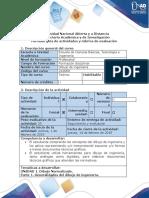 Guia de actividades y rubrica de evaluacion - Pre-tarea - Generalidades del dibujo de ingenieria