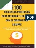 #100 Poderosas Preguntas para mejorar tu relacion con el dinero para siempre