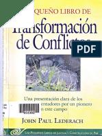 290648412 Transformacion de Conflictos Lederach