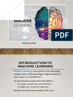 Intro to Machine Learning