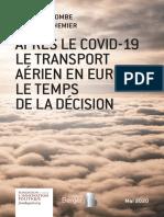 Après le Covid-19, le transport aérien en Europe