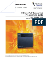 KX-TDA100-200 2-0-16 Channel IP Gatway Programming Guide for 0490[1]