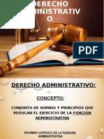 Presentación Derecho Administrativo