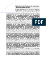 HISTORIA DEL DERECHO CONSTITUCIONAL EN COLOMBIA DESDE 1810 HASTA 1991.docx