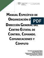 Manual Específico Dirección General del C4 Veracruz