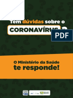 Cartilha - Coronavirus