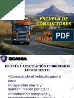 Conducción scania