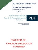 9na. Clase Aparato Reproductor Femenino. 2016 II.