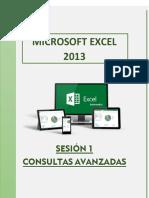 EXCEL 2013 CONSULTAS AVANZADAS