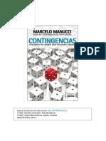 Contingencias - Marcelo Manucci - Resumen