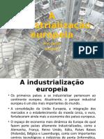 A industrialização europeia