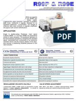 Pneumatic & electropneumatic positioners for rotary valves R99E, R99P