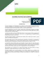 Colombia_Politica hacia adentro