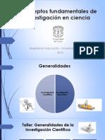2. Conceptos fundamentales de investigación en ciencia