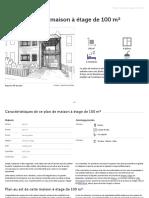 plan-de-maison-a-etage-de-100-m-ooreka