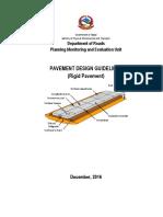 Rigid Pavement Design Guidelines_DoR