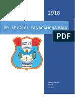 PROYECTO  EDUCATIVO INSTITUCIONAL  82161  - 2018