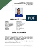 Hoja de Vida-Luis Fernando Saavedra Matiz actalizada 22.docx