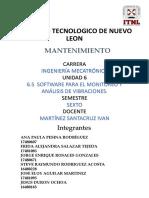 6.5 Software para el monitoreo y análisis de vibraciones.