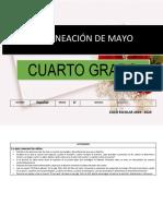Planeacion Mayo 4to Grado 2019 2020