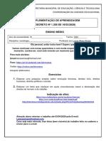 Plano de estudos 1301 sociologia atividades