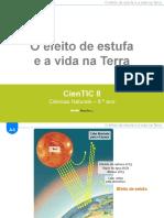 CienTic8- A4 Efeito de estufa