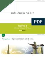 CienTic8- E4 Influência da luz