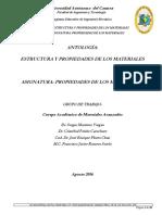 ANTOLOGIA-ESTRUCTURA DE MATERIALES