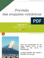 CienTic7- F6 Previsão da atividade vulcânica